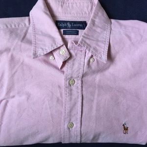 Men's Polo Ralph Lauren Pink Yarmouth shirt 16-32